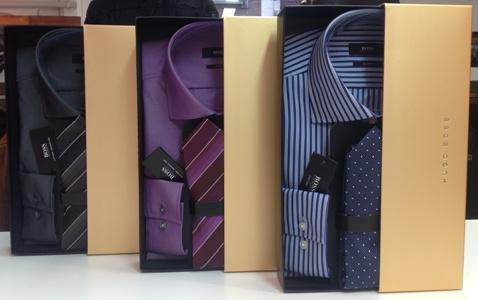 coffret chemise cravate