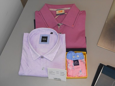 "Polo ""BOSS ORANGE"", Chemise ""BOSS"", Caleçon ""RIVER WOODS"""