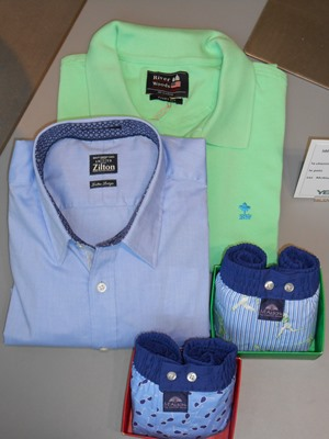 "Chemise ""RIVER WOODS"", Polo ""RIVER WOODS"", Caleçons ""McALSON"""