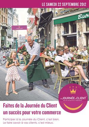 affiche journée du client 2012